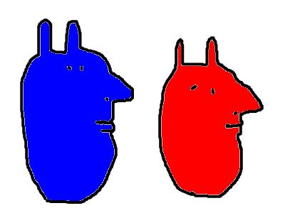 青の他人と赤の他人